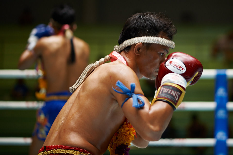The Wai Kru is a ritual in which Muay Thai students pay respect and gratitude to their teachers