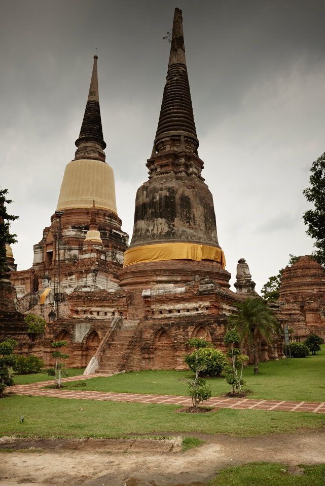 Old ruins at Ayutthaya