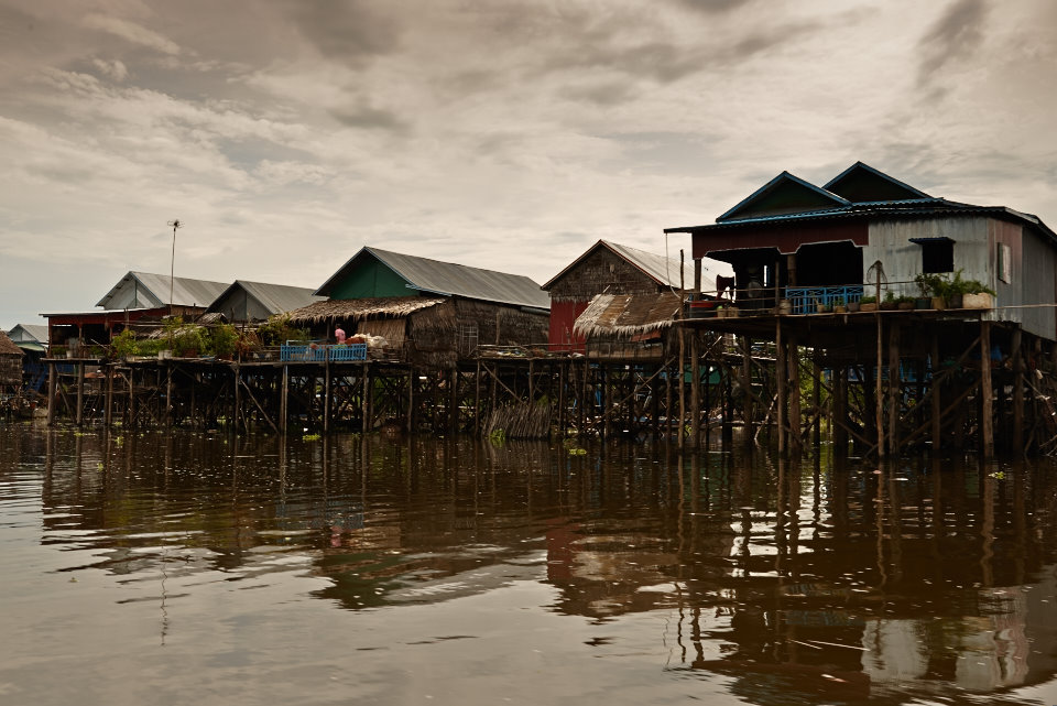 Later in the day we visited the floating villages close to Siem Reap